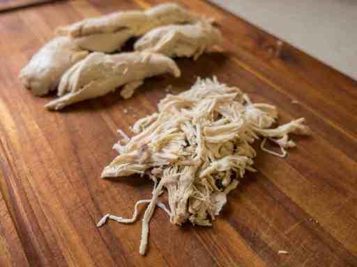 Pressure Cooker Chicken Broth and Shredded Chicken