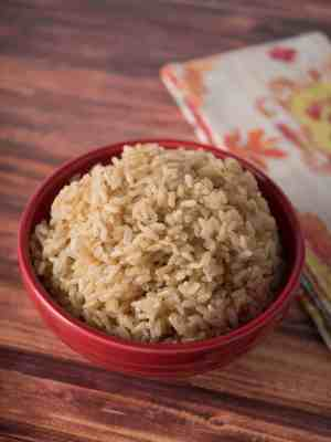 Pressure Cooker Brown Jasmine Rice