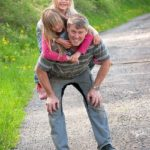 Should rides: Every toddler wants to ride on daddy's shoulders. By the time they're two, they'll be getting too big and heavy. If you're going on a walk, grab the opportunity whilst you still can.