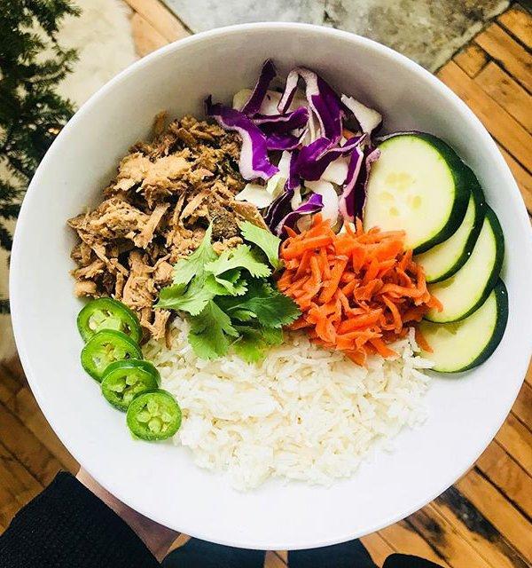 Bahn Mi Rice Bowl