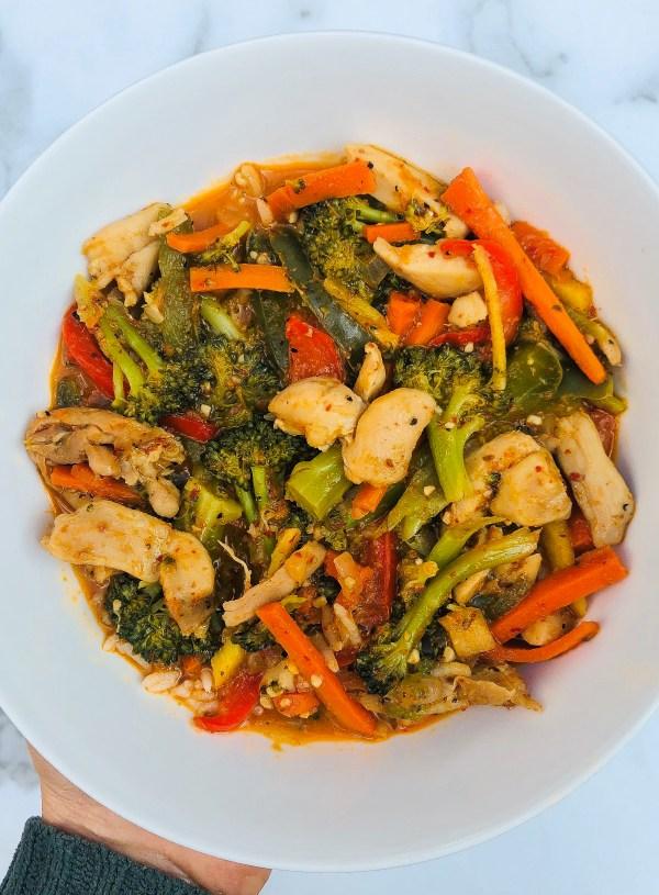 Chicken & Veggie Red Curry