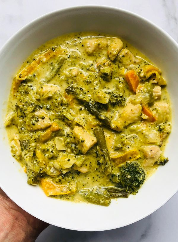 Chicken & Veggie Green Curry