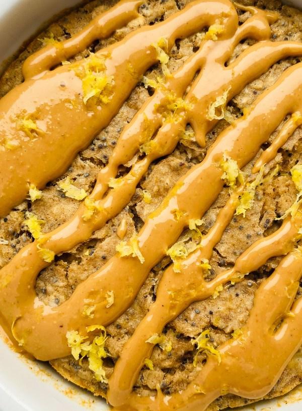 Lemon Poppyseed Baked Oatmeal- Single Serving