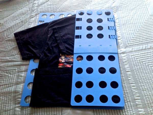 Step 4 - Fold Board from Right to Left.