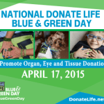 It's National Donate Life Month!