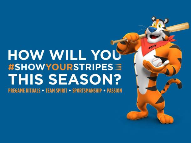 #FrostedFlakes #ShowYourStripes #Ad