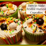 How to Make Festive Harvest Cupcakes