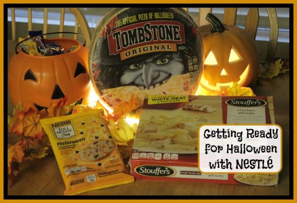 Halloween with Nestle