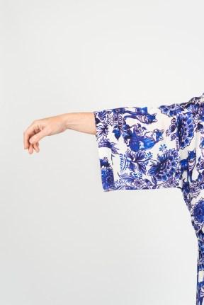 100% Silk Kimono (Printed)