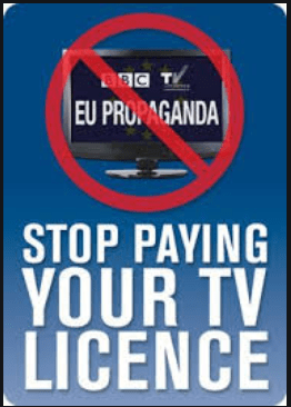 TV Licensing notice of withdrawal of implied access.