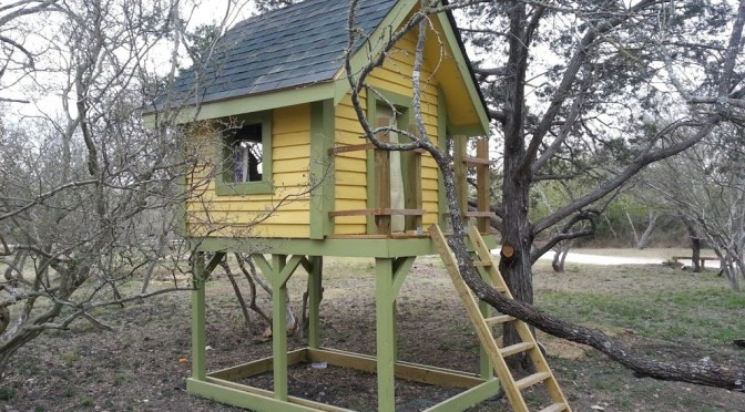 Playhouse Among the Trees