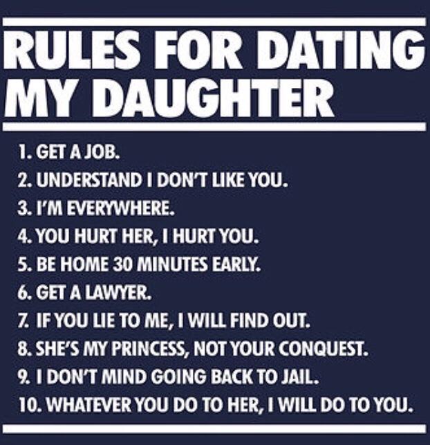 Dating my daughter rewards poor dad