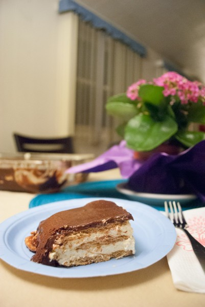 Eclair Cake - Ready to Eat