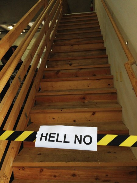 Hell No Staircase