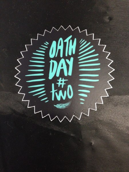 Oath Day Two - 2014
