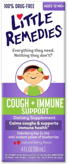Little Remedies - Cough + Immune Support Dietary Supplement