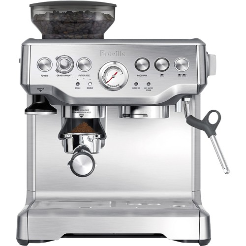 Breville-The-Barista-Express-25-Shot-Espresso-Maker-Stainless-Steel-Model-BES870XL-SKU-6291169