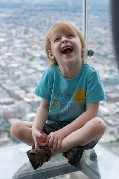 Happy Chicago Skydeck Chicago Smile