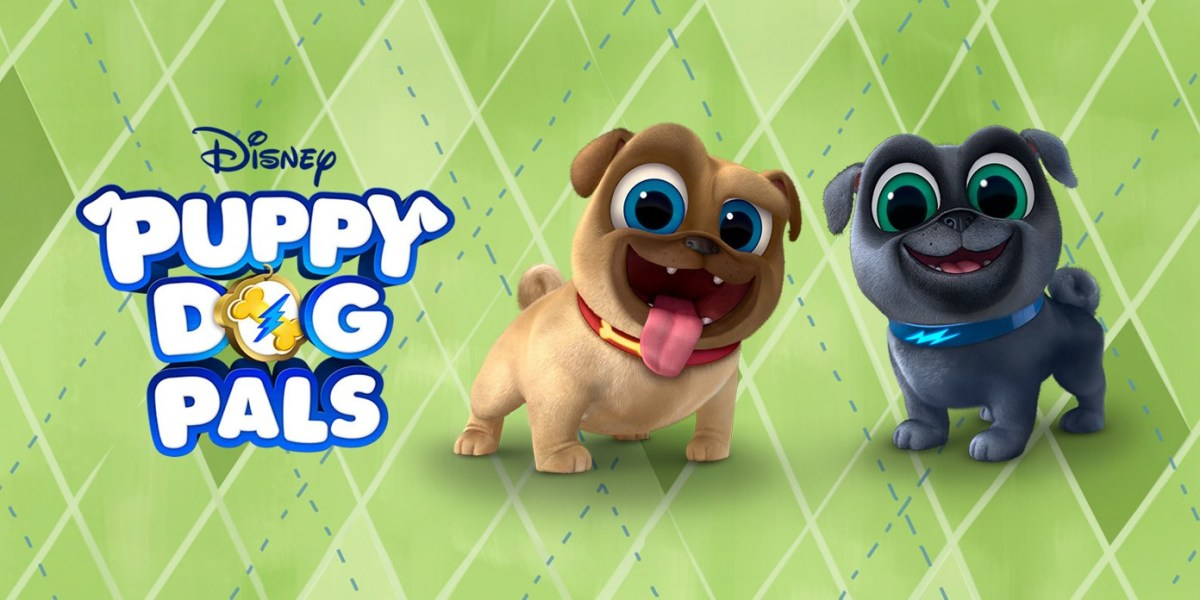 Playtime With Puppy Dog Pals [DVD Giveaway]