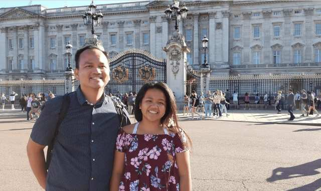 Two days in London