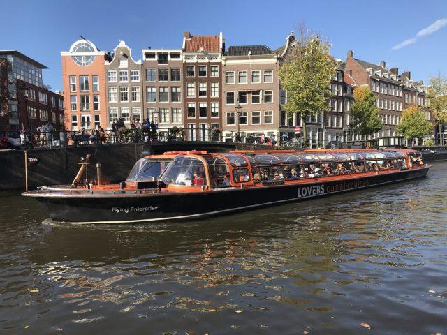 Layover in Amsterdam