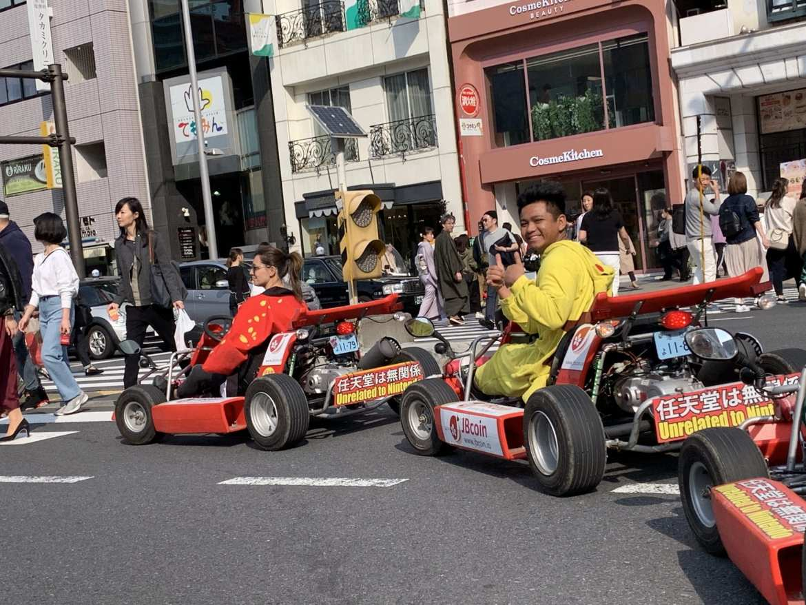 Tokyo MariCAR – our Go Karting experience in Japan