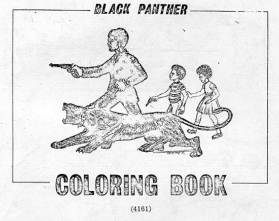 Black Panther Coloring Book: Color The Police! Color