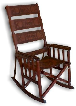 Los Folding Rocking Chairs De Costa Rica  Daddy Types