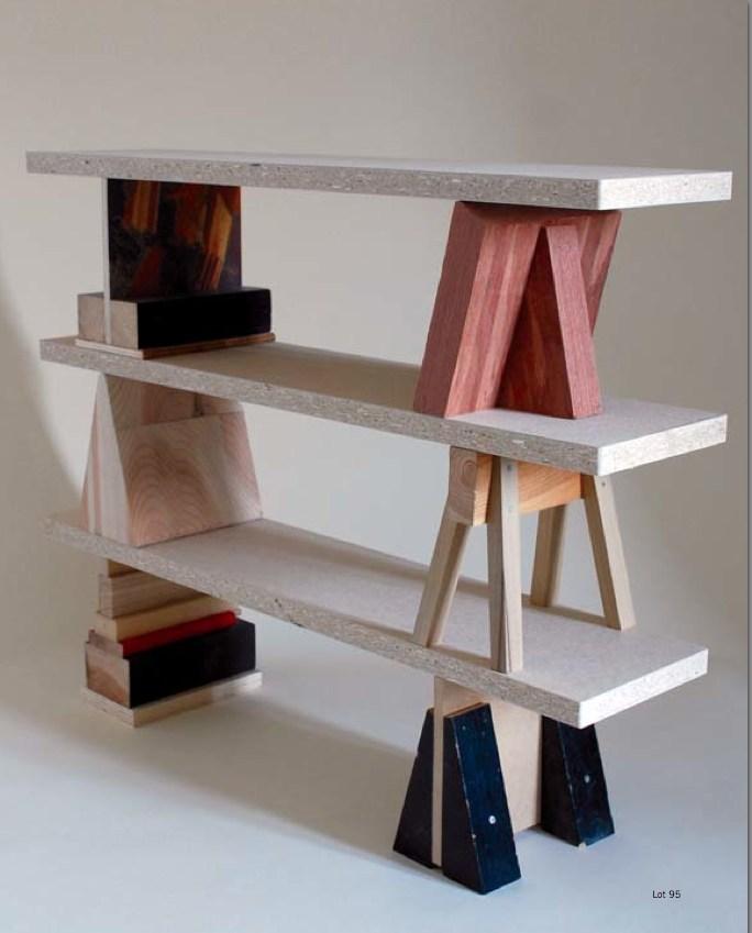 folding chair auction bottom of protectors 'il buon mobile per bambini': enzo mari kids shelf - daddy types