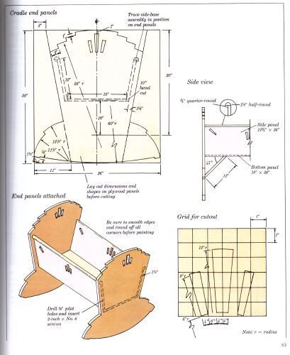 PDF Plans Cradle Download Diy Coffe Table