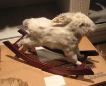 Frick Kids Rode Taxidermy Rocking Bunny - Daddy