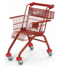 'Short Rest': Kid-Size Shopping Cart Chair By Stiletto ...