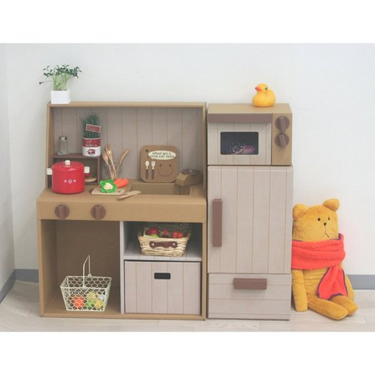 Japanese Kids Always Have Best Cardboard Play Kitchens Daddy