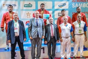 عشر ميداليات للمغرب في بطولة العالم للصامبو للأساتذة