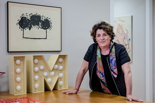 Sílvia Requena, nova secretària general de la Lliga.   Adrià Costa