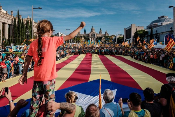 Manifestació de la Diada del 2019. | Adrià Costa