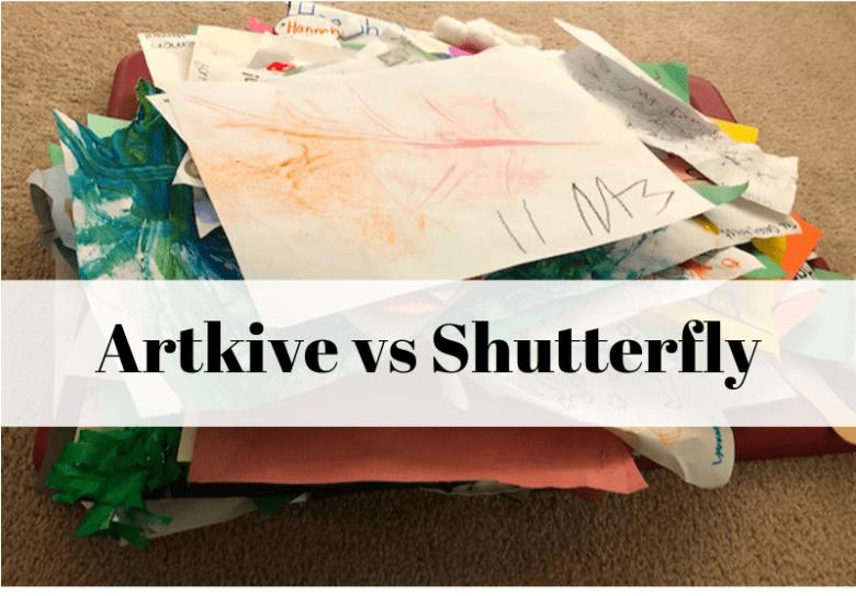 Artkive vs Shutterfly photobooks