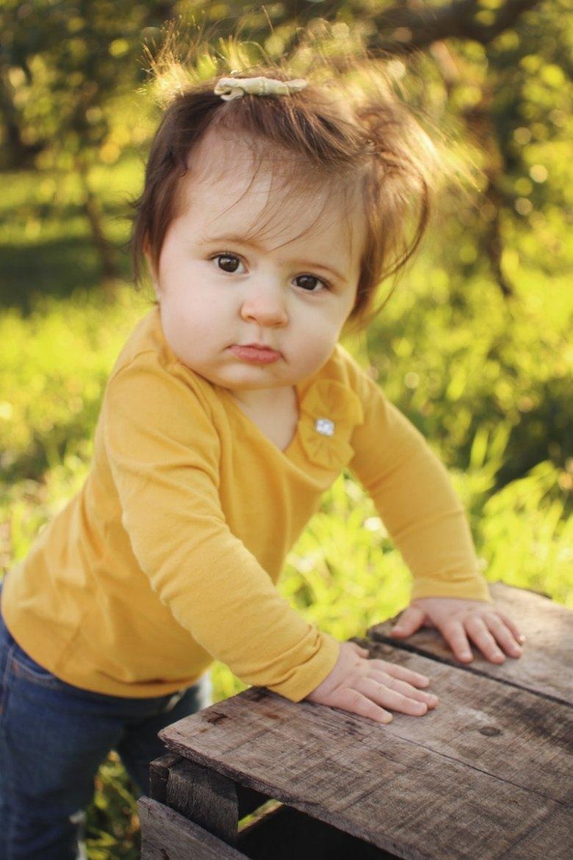 A toddler girl named Ellie