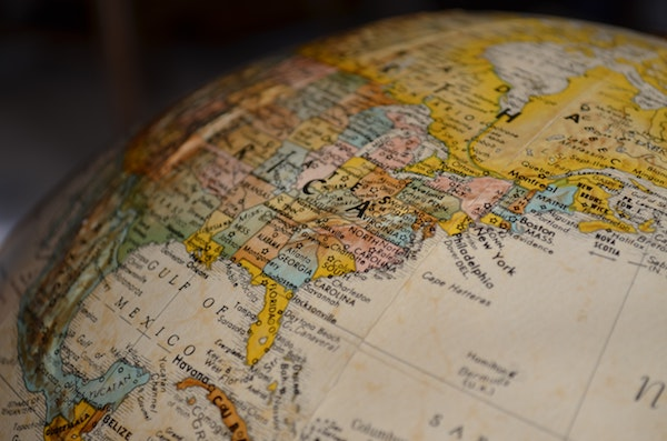 A globe for planning travel
