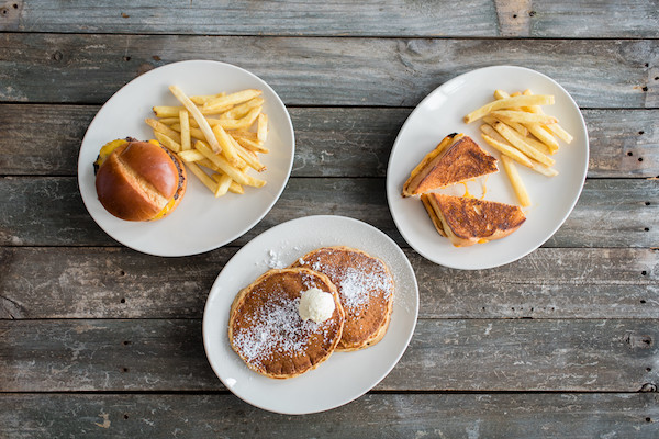 A sampling of kids meals from Tupelo Honey