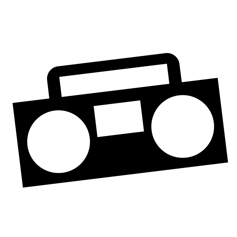 Image of a ghettoblaster