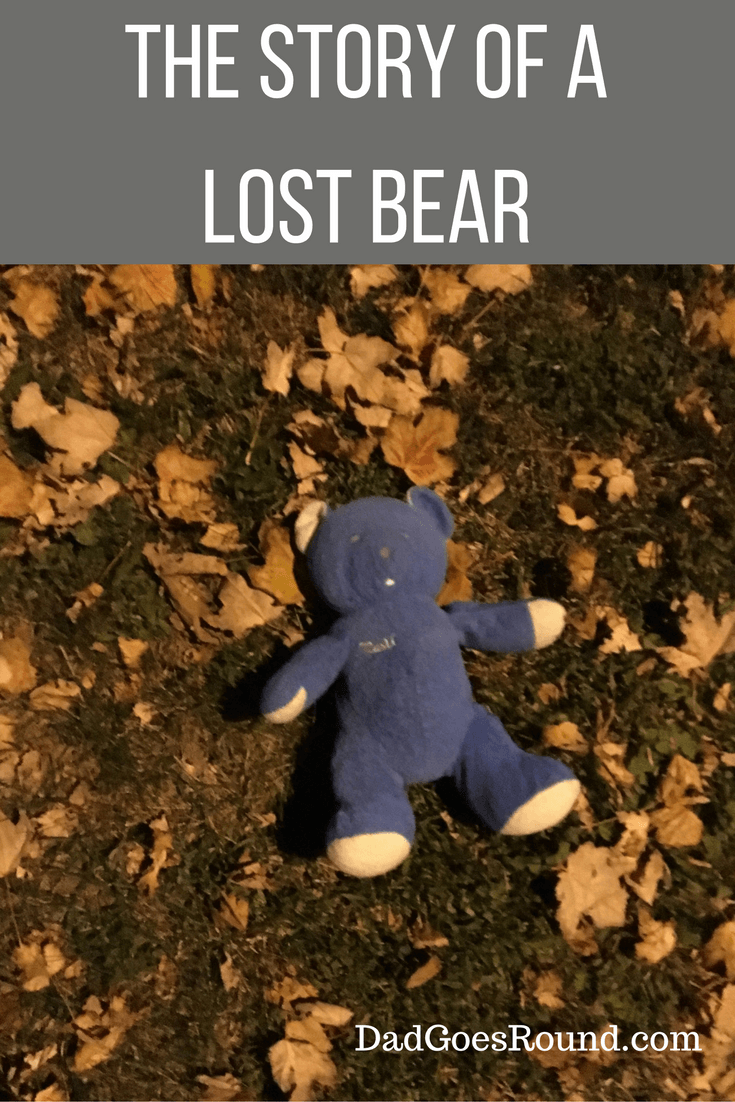 The Story of a Lost Bear | What do you do when your child looses their very favourite stuffed animal or toy?