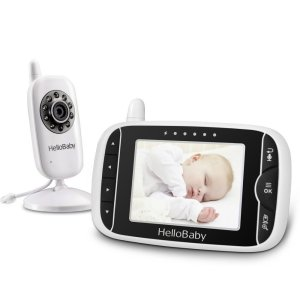 2. HelloBaby HB32 Wireless Video Baby Monitor with Digital Camera
