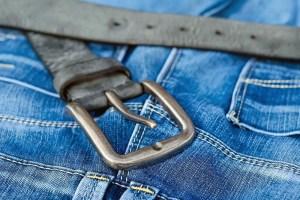 Jeans, hospital bag spare clothes