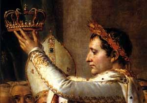 1804, Coronación de Napoleón - La Historia a Cuadros