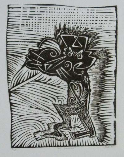Art panther. 85 33x24 cm