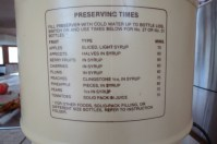 instructions on the Fowlers Vacola preserver