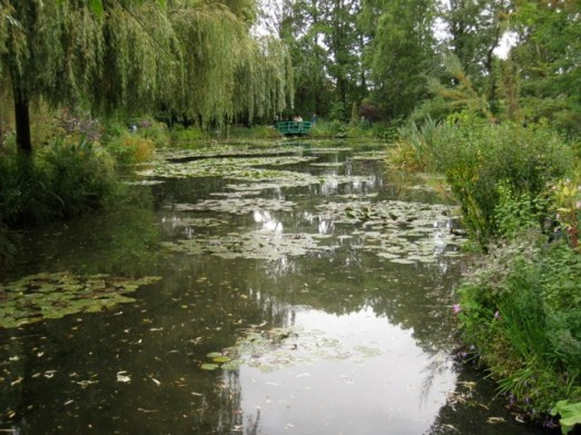 Monet's lily pond, Giverney