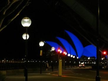 Opera House was blue for Aspergers Awareness Week