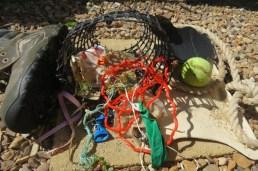 beach detritus, my artwork :)